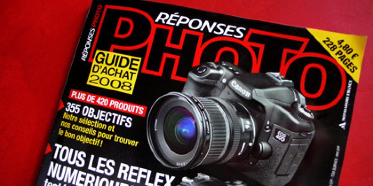 Le guide d'achat 2008 Réponses Photo