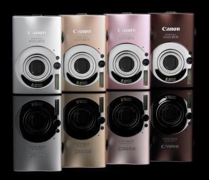 canon ixus couleurs