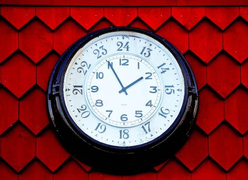 changez l'heure de votre blog