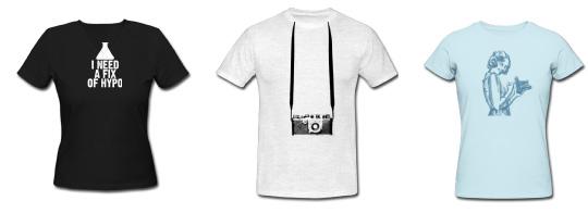 t-shirt pour photographe
