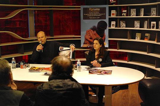 Débat Réponses Photo à la Fnac Montparnasse