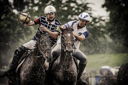 Finales Championnats de France de HorseBall 2012 Pro Elite Mixte. Arles vs. Chambly