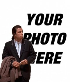 Online Meme Of John Travolta Confused To Put Your Background Image T