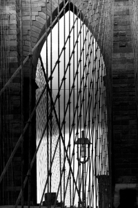 arch on brooklyn bridge (sw) (limitierte edition) - PHOTOGALERIE WIESBADEN - new york city - fascensation