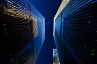 blue height (limitierte edition) - PHOTOGALERIE WIESBADEN - new york city - fascensation