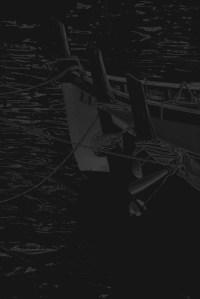 boote 5 - PHOTOGALERIE WIESBADEN - dunkel-schwarz