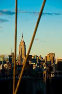 empire state building from brooklyn bridge (limitierte edition) - PHOTOGALERIE WIESBADEN - new york city - fascensation