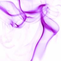 rauch 1 weiß lila - PHOTOGALERIE WIESBADEN - flamme rauch formen