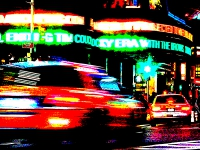 taxi to times square (photo art edition) - PHOTOGALERIE WIESBADEN - new york city - fascensation