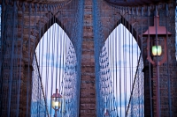 two archs on brooklyn bridge (limitierte edition) - PHOTOGALERIE WIESBADEN - new york city - fascensation