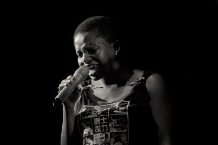Tutu Puoane in concert at the Taipei International Jazz Festival