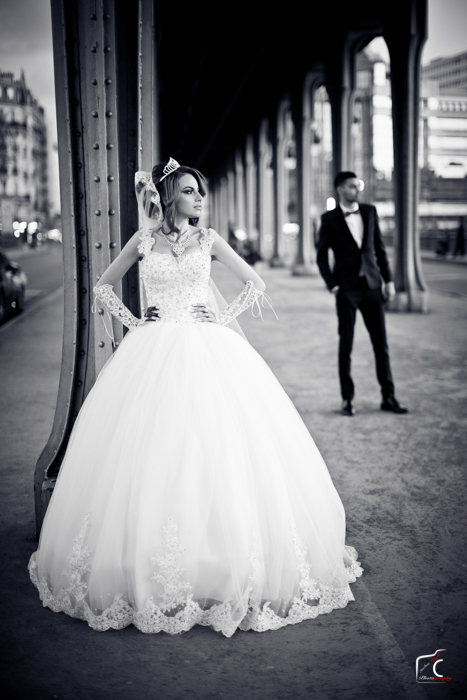photography drone de mariage