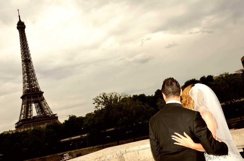 mariage tour eiffel