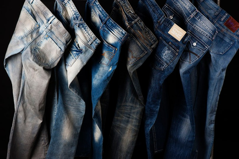 fashion product different style jeans