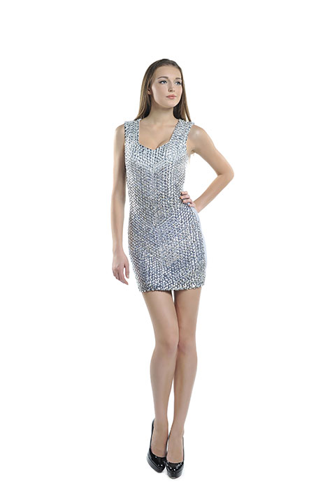Style Silver Dress Front
