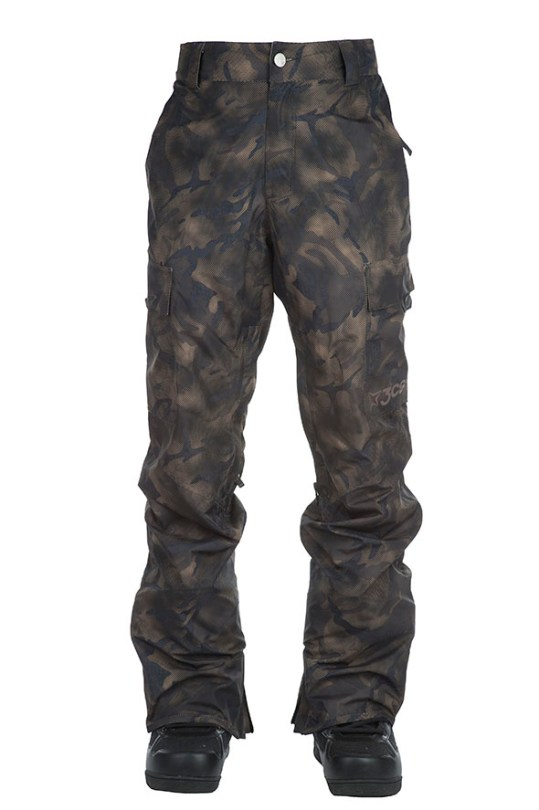 ghost mannequin men winter pants front