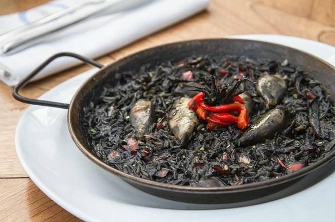 Resultado de imagen de arroz negro catalan