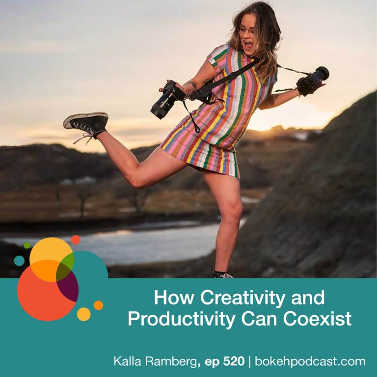 Episode 520: How Creativity and Productivity Can Coexist – Kalla Ramberg
