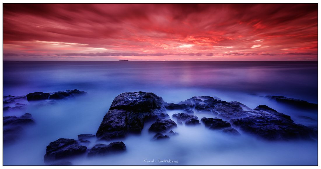 sunrise over pacific at moonee beach bay ©Hamish Scott-Brown
