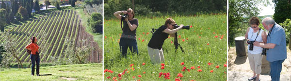 Workshop Photographers in Action