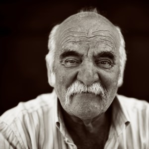 Pienza Portrait - Photograph by Andreas Overland
