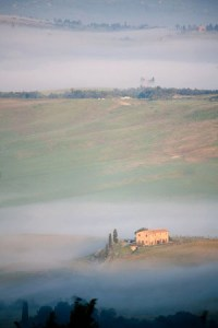 The Val d'Orcia, Tuscany - Photo by Amanda Dussault, Workshop Participant 2009 & 2010