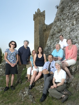 A great group of talented photographers in Tuscany, August, 2014