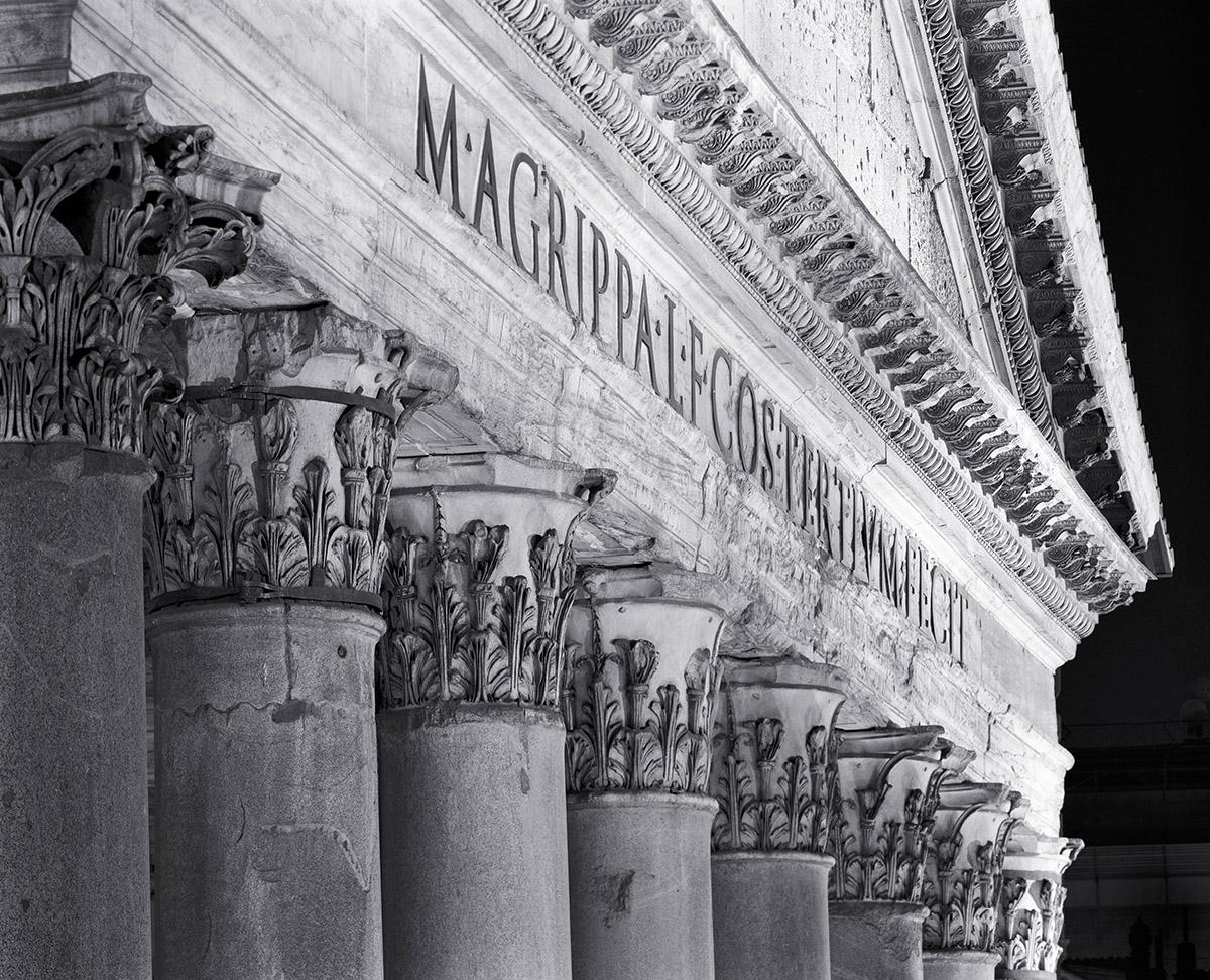 Pantheon, Roma - Photograph by Jeff Curto