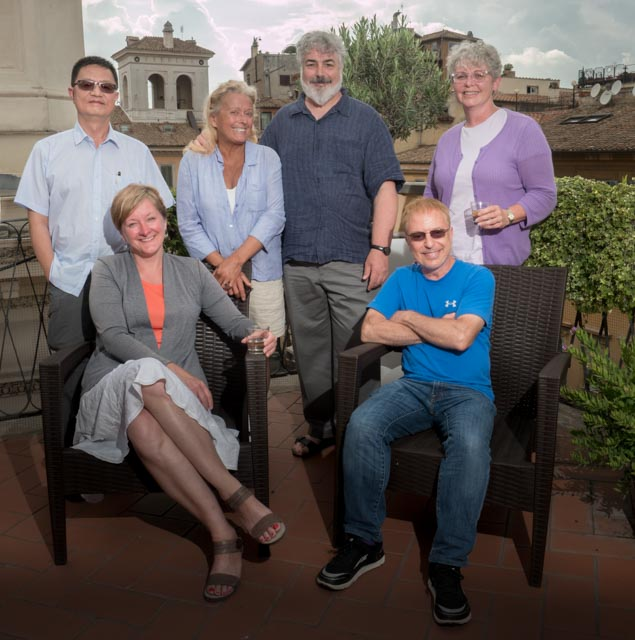 A great group of photographers in Rome