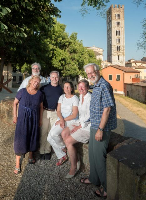 2017 Tuscany Workshop Group in Lucca, Tuscany