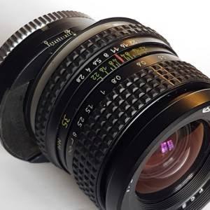 ; PCS Arsat H 1:2,8 35mm Shift Lens