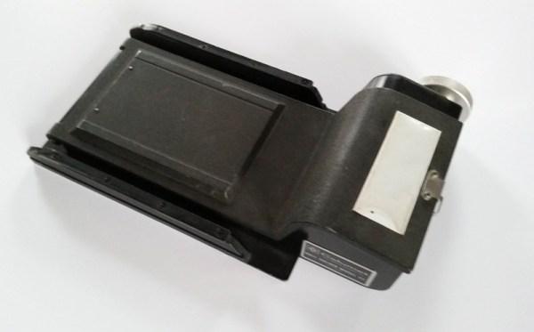 "gar0006 PROF. EQUIPMENT: Calumet 6x7 cm. rollfilm holder for 4x5"""
