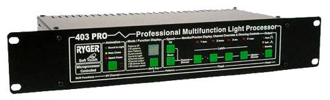 Ryger 403 Pro Profesionnal Multifunction Light Processor