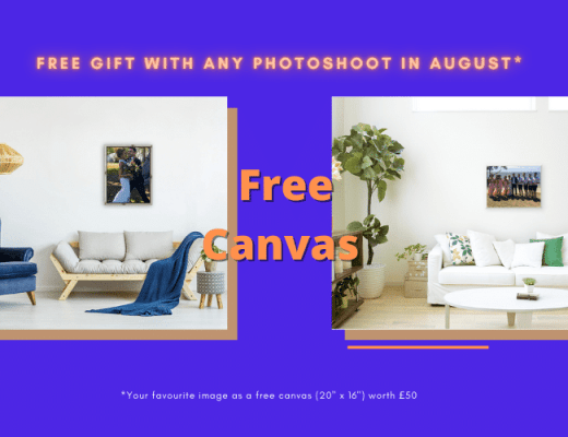 August Free Gift Offer - free Canvas Print - from Dave Mutton Photography