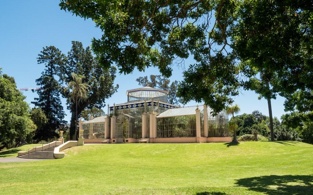 Botanic Garden Greenhouse