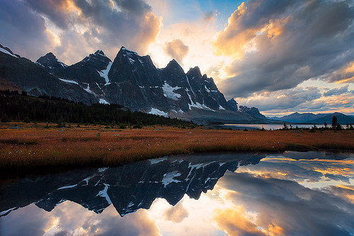 The Ramparts Tonquin Valley, Jasper, Canada