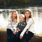 Potomac Maryland child portrait river