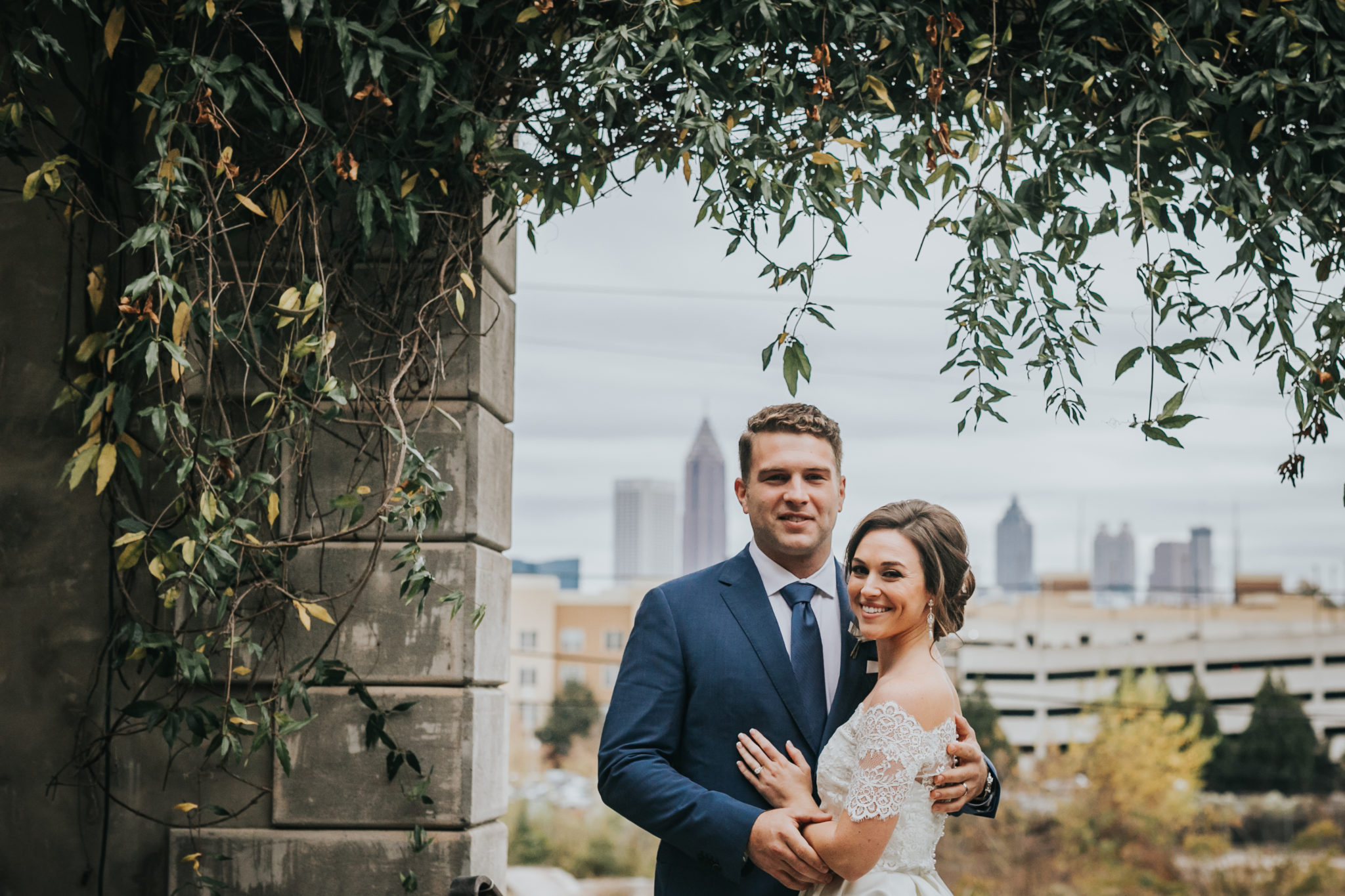 Atlanta Wedding Photographers.Married Christa Spencer Summerour Studio Wedding Downtown