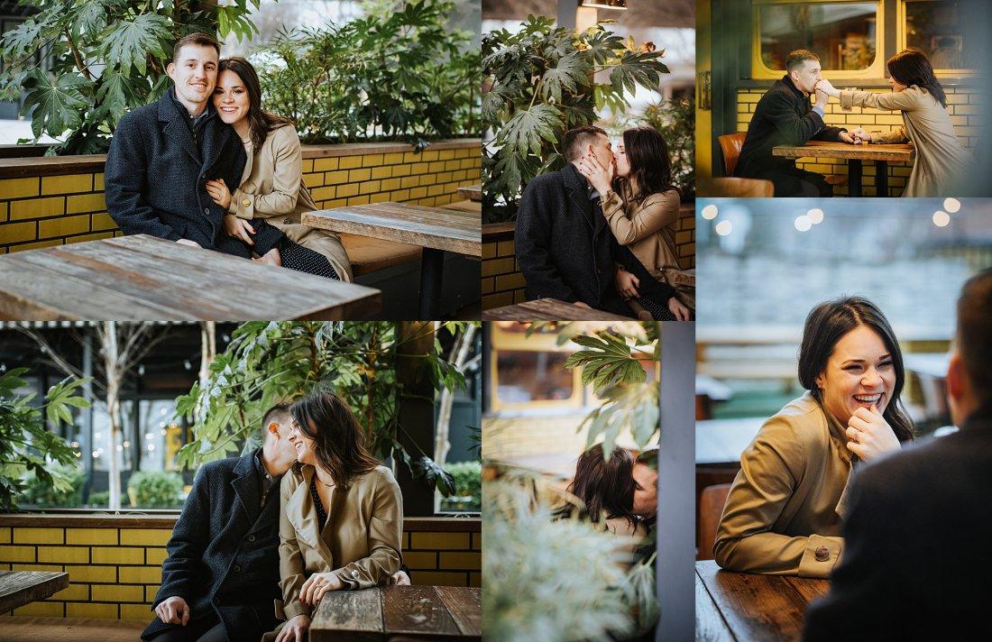 Atlanta Wedding photogrphers Krispy Kreme Engagement Session