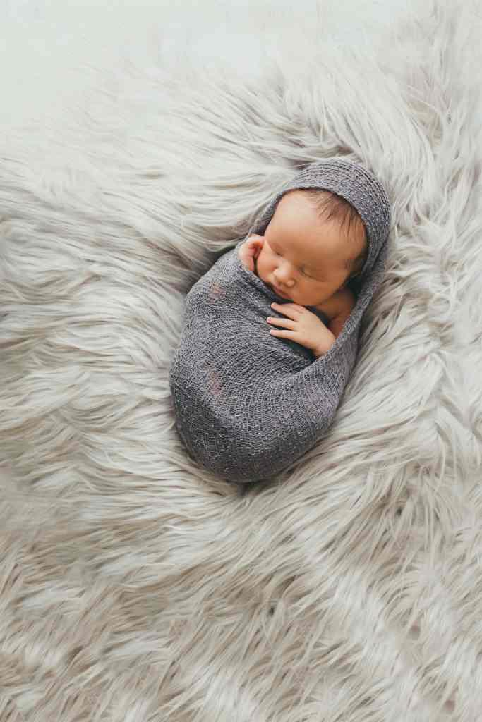 Atlanta Newborn Photographer Posed Wrap