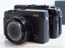 XE-1 vs X-Pro1 side by side