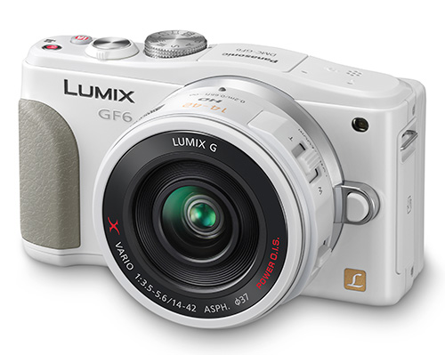 Panasonic GF6 : new sensor, faster AF, Wi-Fi and NFC