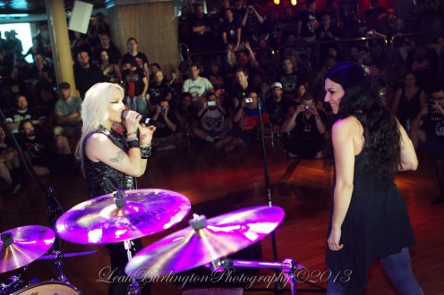 Christina and Doro All Star Jam