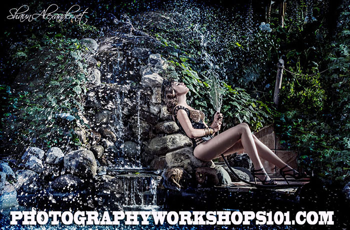 Photography Workshops in Los Angeles instructed by Top fashion photographer Shaun Alexander