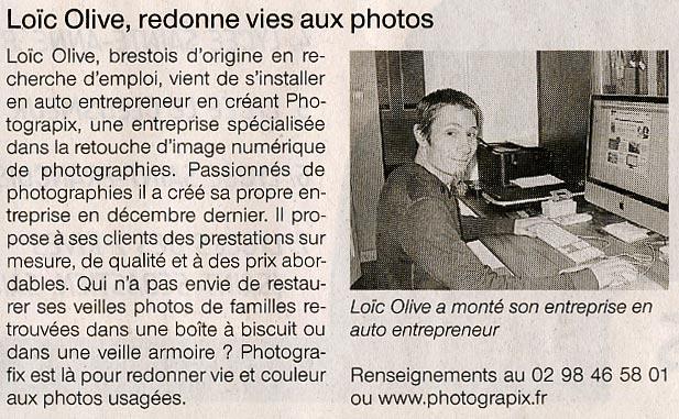 Ouest France Photograpix 27-01-2010