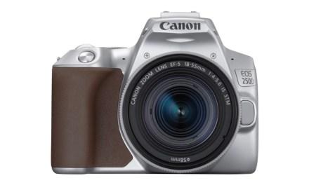 Canon EOS 250D: la cámara reflex más pequeña y ligera del mundo