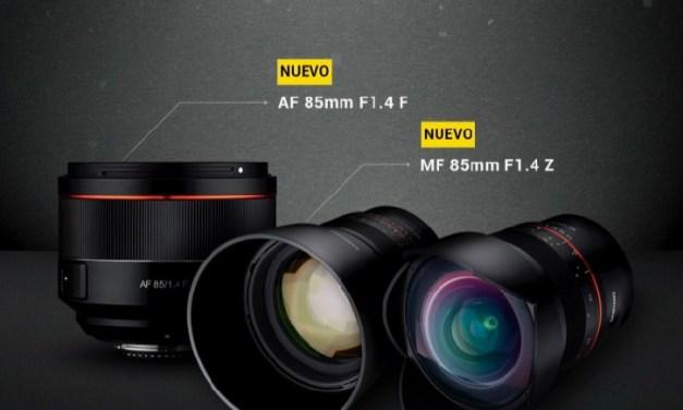Samyang presenta tres objetivos para Nikon: uno para la montura F y dos para la montura Z