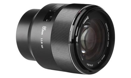 Nuevo Meike 85mm f/1,8 para Sony E: por fin un objetivo barato ideal para retratos