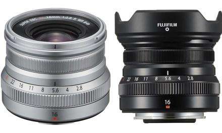 Fujifilm lanza el objetivo Fujinon 16mm f/2,8, un gran angular luminoso por muy buen precio
