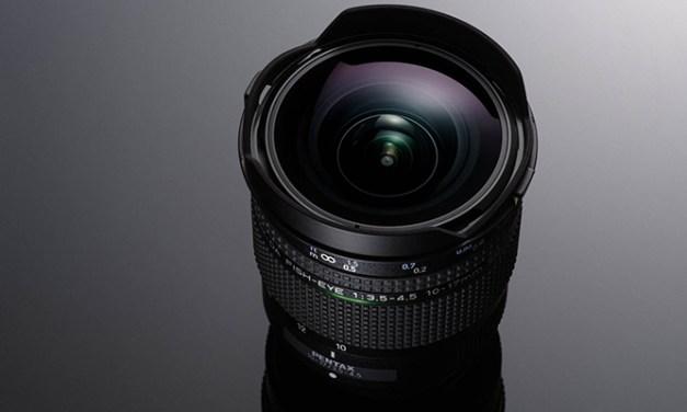 Ricoh actualiza el objetivo ojo de pez Pentax 10-17mm f/3.5-4.5